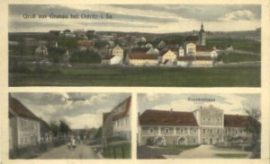 Gruss aus Grunau bei Ostritz