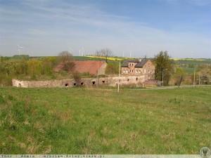Folwark w Krzewinie na pocz. XXI w. (Źródło: dolny-slask.org.pl)
